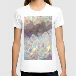 Iridescent Aura Crystals T-shirt