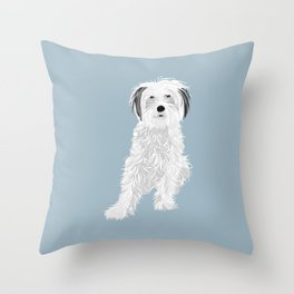 Caper Throw Pillow