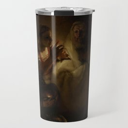 The Denial of St Peter - Rembrandt Travel Mug