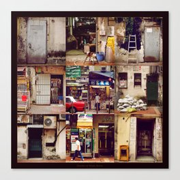 Doors of Hong Kong Canvas Print