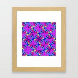 Retro Rosemary Pink Framed Art Print