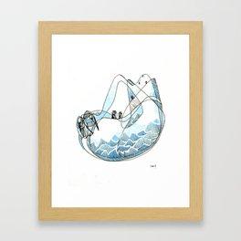 Zoa Peak Framed Art Print