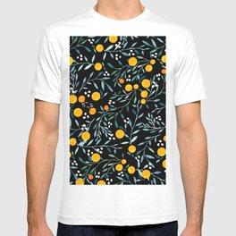Oranges Black T-shirt