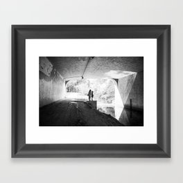 """""""In this together"""" Framed Art Print"""