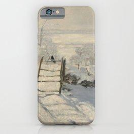 Claude Monet  -  The Magpie iPhone Case