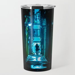 Replicant in the Rain Travel Mug