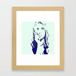 Ashley Benson Framed Art Print