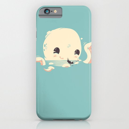 Adorable Octopus Battle iPhone & iPod Case