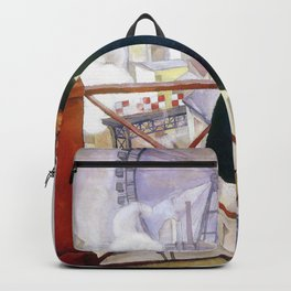 Portrait Of Adolfo Best Maugard - Diego Rivera Backpack