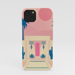 blue desert dreams  iPhone Case