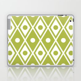 Harlequin Pattern Chartreuse Laptop & iPad Skin