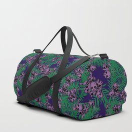 Orchid Skulls Duffle Bag