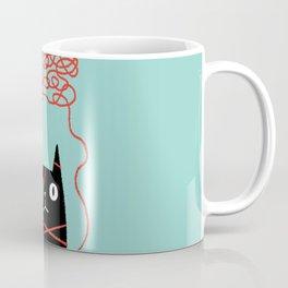 Tangled Cat Coffee Mug