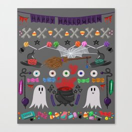 This is Halloween Canvas Print