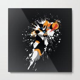 Bass/Forte Splattery Explosion Metal Print