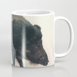 Veluwe: Wild Boar Coffee Mug