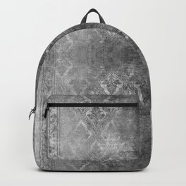ANTIQUE SILVER DAMASK  Backpack