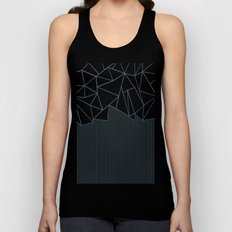 Ab Lines Blues Unisex Tank Top
