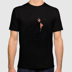 Catwoman Mens Fitted Tee SMALL Black