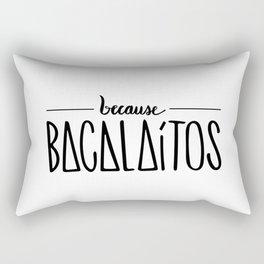 becase BACALAÍTOS Rectangular Pillow