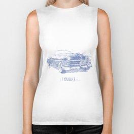 Hemingway's 1955 Chrysler (Biro Sketch)  Biker Tank