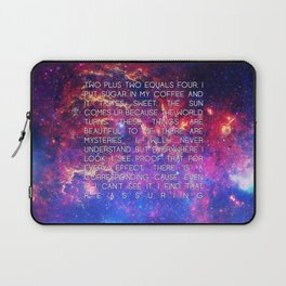 CAUSE AND EFFECT Laptop Sleeve