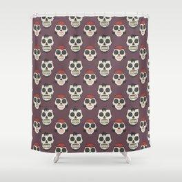 Till Death Do Us Part? (Patterns Please) Shower Curtain