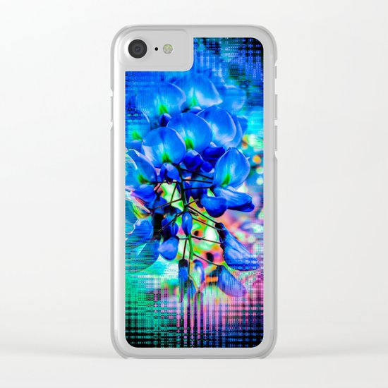 Flower - Imagination Clear iPhone Case