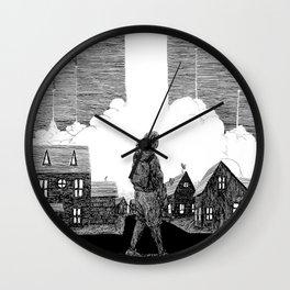 Missiles Wall Clock