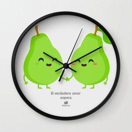 El verdadero amor espera Wall Clock