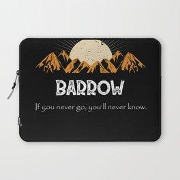 Alaska Barrow Hiking Mountains Vintage Laptop Sleeve