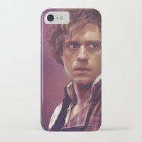 enjolras iPhone & iPod Cases featuring Enjolras by Julia Bland