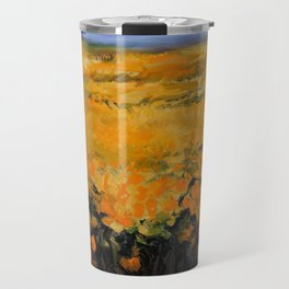 Sunflowers II Travel Mug