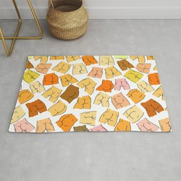 Butts Party Rug