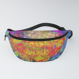 Superhero Type Art Comics SM Fanny Pack