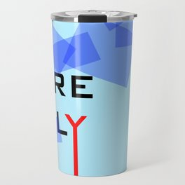 Here Only My Rules - Boy sign - Vector Travel Mug