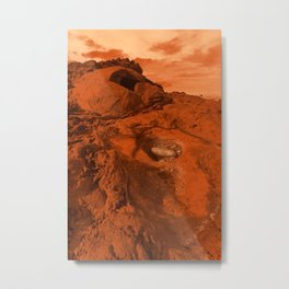 Mars landscape Metal Print