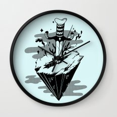 Releasing Dark Matter Wall Clock