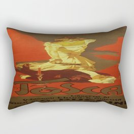 Vintage poster - Tosca Rectangular Pillow