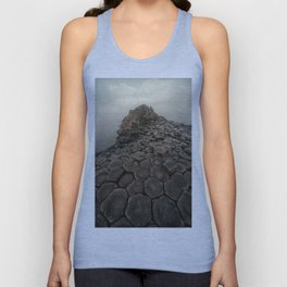 Sunny morning in Giant's Causeway Unisex Tank Top