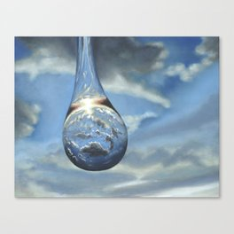 Tears In His Bottle Canvas Print