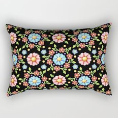 Millefiori Pinwheel Pattern Rectangular Pillow