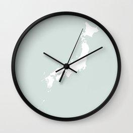 JAPAN AQUAMARINE Wall Clock