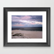 Beach Colors Framed Art Print