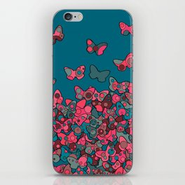 Flutterflies iPhone Skin