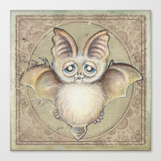 Bat Tito Canvas Print