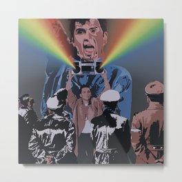 In Deinen Augen  (Peter Gabriel, Say Anything, Nazis) Metal Print