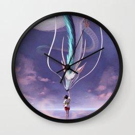 Spirited Away Fanart Wall Clock
