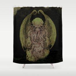 Cthulhu : Cosmic God Of Horror Shower Curtain