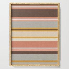 Vintage Kilim Stripes Serving Tray